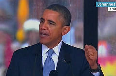 Full Video and Prepared Transcript of President Obama's Speech at Nelson Mandela Memorial
