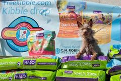 Freekibble.com and Ellen DeGeneres' Halo Pet Food's Inspire Tour Will Deliver 500,000 Meals to Homeless Pets